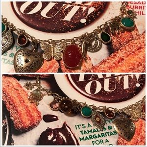 Anthropologie Jewelry - Anthropologie Bits and Baubles Charm Necklace